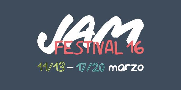 Clicca sull'immagine per accedere al sito di JAM 2016